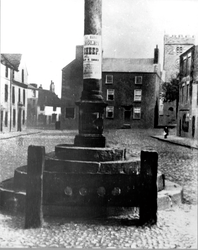 Stocks & Market Cross, Market Place, Poulton~1883